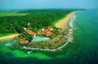 Saman Villas is positioned on a rocky outcrop south of Bentota, Sri Lanka