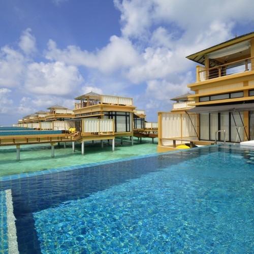 Luxury accommodation, enjoyed by the pool side